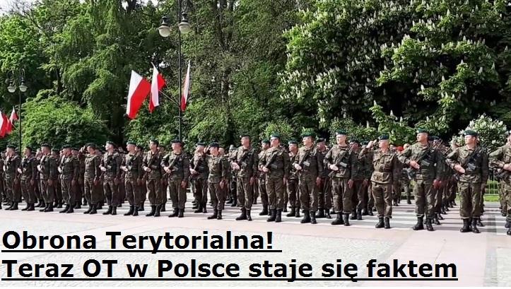 Obrona Terytorialna. Teraz OT wPolsce staje się faktem | AtamanShop.pl