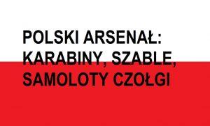 Polski arsenał minionego wieku: karabiny, samoloty, czołgi | Blog Patriotyczny