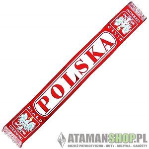 Patriotyczne szaliki POLSKA, Kibicowski Biało-Czerwoni! | Blog Patriotyczny