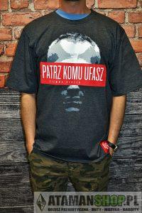 Koszulka Ciemna Strefa Patrz KomuUfasz CS RPK | Blog HipHop