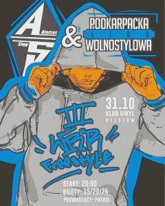 WBR III – Wielka Bitwa Rzeszowska / Freestyle PLW&AS wKlub Vinyl 31.10.2018