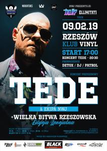 Wielka Bitwa Rzeszowska Edycja Specjalna ! TEDE ! WBR Freestyle Battle ! PLW !
